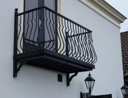 Compleet balkon met buikspijlen