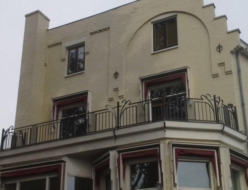 Balkon of dakterras in ArtDeco stijl